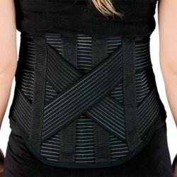 Dorsaflex: Corsetto lombare tiranti posteriori incrociati e stecche modellabili