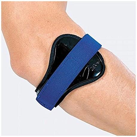 Epicon bracciale per epicondilite con pressore bilaterale rigido