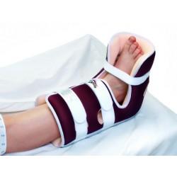 Tutore gamba-piede con apertura al tallone