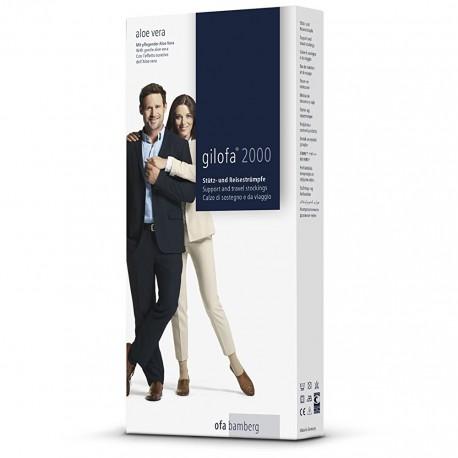 Gilofa 2000 - Calze contenitive, Aloe Vera Edition