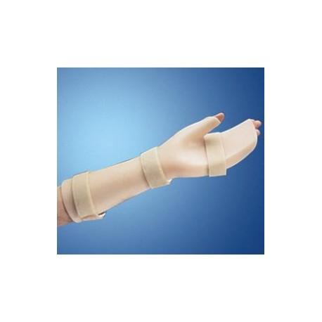 Ortesi palmare in polietilene per polso, mano e dita