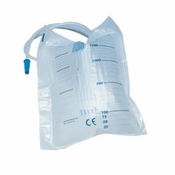 Sacche urina da letto da 2 litri senza scarico (tubo 90 cm)