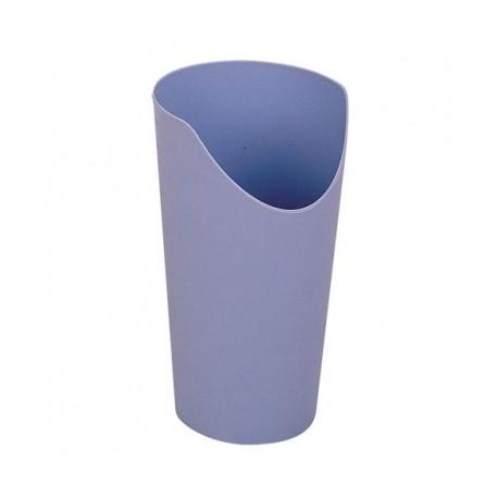 Bicchiere con scarico per naso