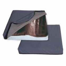 Cuscino con base preformata e gel automodellante